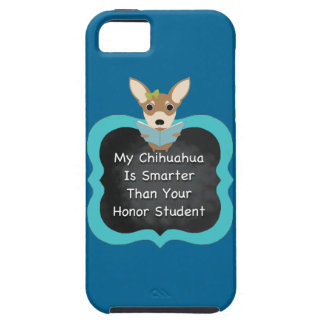Smart Chihuahua iPhone 5 Covers