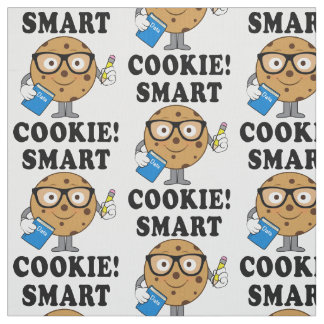 Smart Chocolate Chip Cookie Fabric