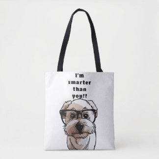 Smart Dog - Cute Dog Collection / Tote Bag