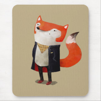 Smart Fox Mouse Pad