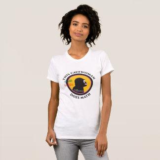 Smart Gear Math Cavewoman STEM Big Logo T-Shirt
