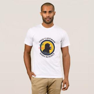 Smart Gear Science Caveman STEM Big Logo T-Shirt