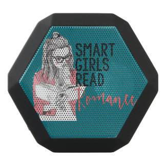 Smart Girls Read Romance Boom Bot Rex Black Bluetooth Speaker