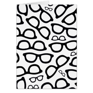 Smart Glasses Pattern Card