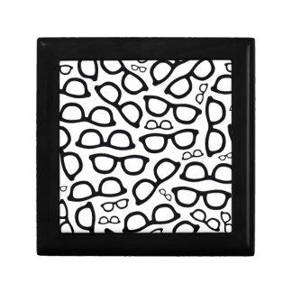 Smart Glasses Pattern Jewelry Boxes