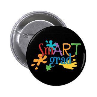 SmART Graduate - Art Major, Art Student 2 Inch Round Button