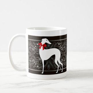 Smart greyhounds coffee mug