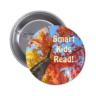 Smart Kids Read! buttons Autumn Tree Leaves