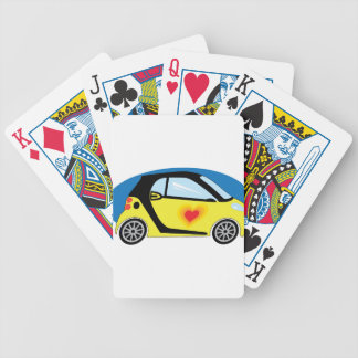 Smart Love Bicycle Playing Cards