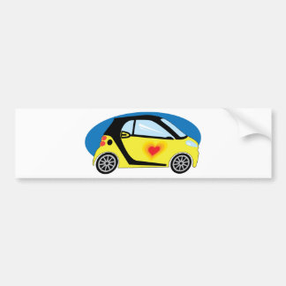 Smart Love Bumper Sticker