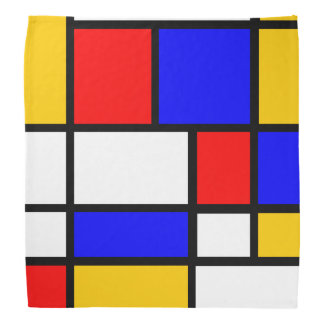 Smart Mondrian Style Do-rag