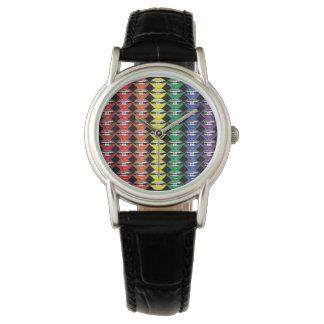 Smart Mouth Rainbow Lipstick Lips Watches