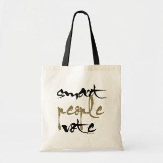 Smart People Vote Tote Bag