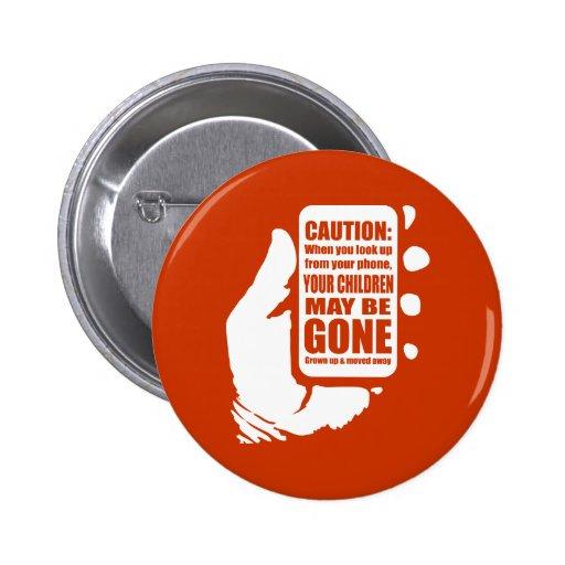Smart Phone Caution Buttons