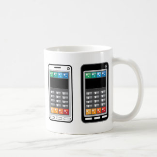 Smart Phone Classic White Coffee Mug