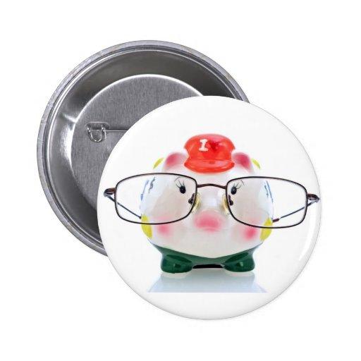 Smart Piggy Bank Pin