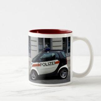 smart Police Car Coffee Mugs