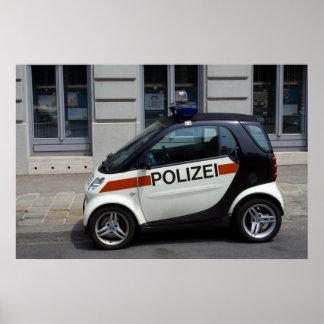 smart Police Car Poster