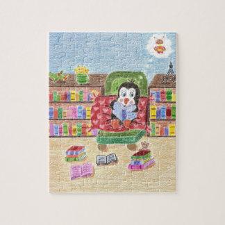 Smart reading penguin puzzle