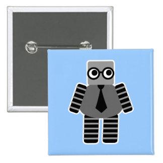 Smart Robot 2 Inch Square Button
