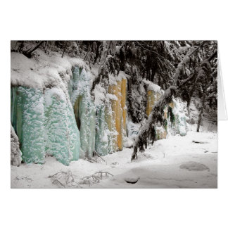 Smart's Brook Icefall No 1 Card