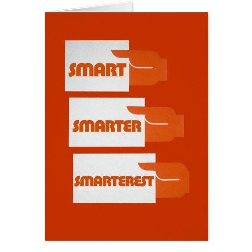 Smart Smarter Greeting Cards