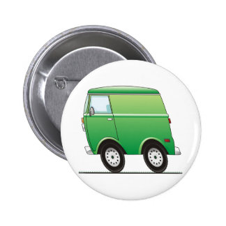 Smart Van Green Pinback Button