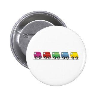 Smart Van Multiple Pinback Button
