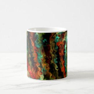 Smart Wavy Abstract Modern Art 45b.5 Coffee Mug