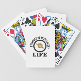 smart we love football bicycle playing cards