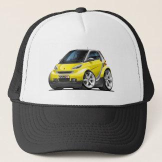 Smart Yellow Car Trucker Hat