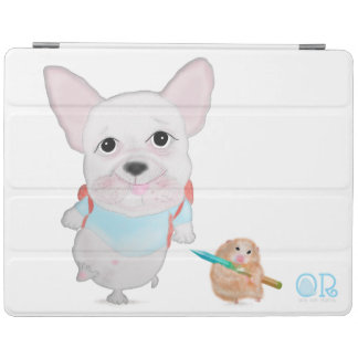 Smartcover for ipad 2/3/4 hamster & cute bulldog iPad cover