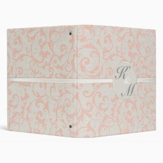 SmartElegance Coral Wedding Folder/Binder Binder