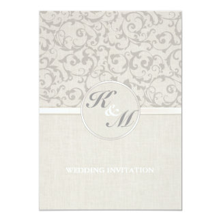 SmartElegance Grey Wedding collection Card