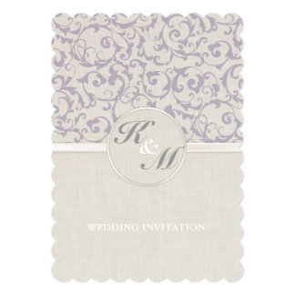 SmartElegance lavender Wedding Collection Card