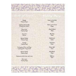 SmartElegance lavender Wedding Collection Full Colour Flyer