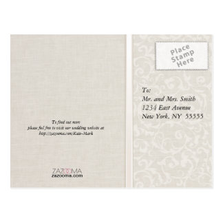 SmartElegance Natural Wedding Collection Postcard