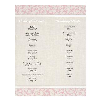 SmartElegance Pink Wedding Collection Full Color Flyer