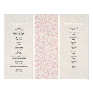 SmartElegance Pink Wedding Collection Full Colour Flyer