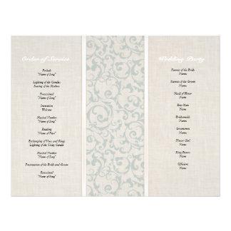 SmartElegance SeaSpray Wedding Collection Custom Flyer