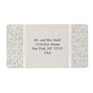SmartElegance SeaSpray Wedding Collection Shipping Label