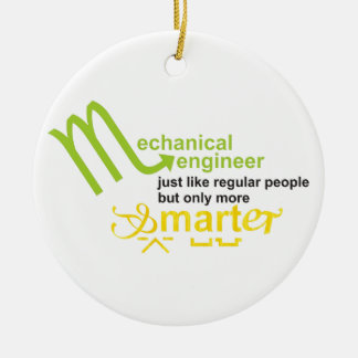 smarter ceramic ornament