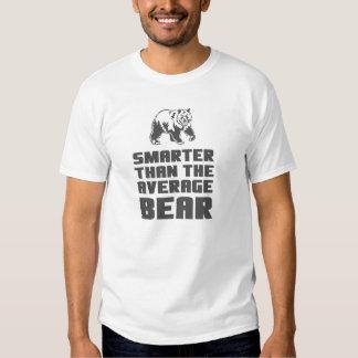 Smarter than the average bear tee shirt