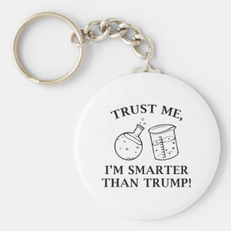 Smarter Than Trump Keychain