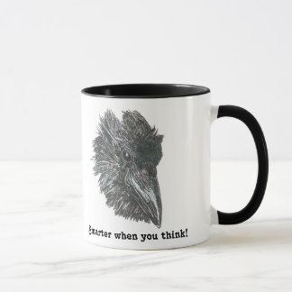 Smarter When You Think Raven Mug