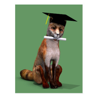 Smartest Fox In Town Postcards