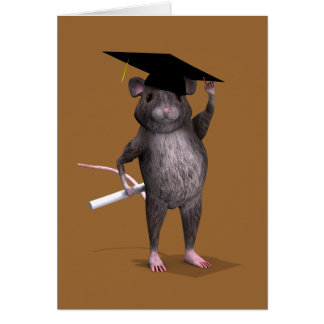 Smartest Rat In Town Greeting Card