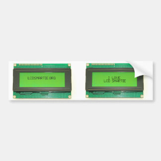 SMARTIE duo sticker Bumper Sticker
