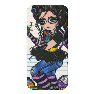 Smartie Pants Nerd School Girl by Hannah Lynn Case For The iPhone 5