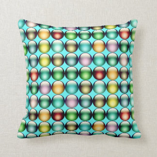 Smarties aqua American MoJo Pillow